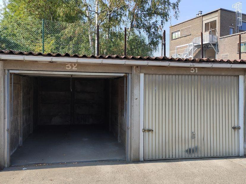 Garagebox in het centrum van Gent, op wandelafstand van Korenmarkt. Vlot bereikbaar.
