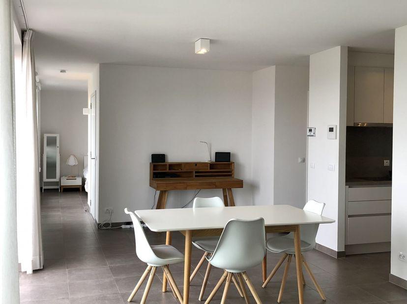 Dit stijlvol, comfortabel  en energiezuinig appartement is gelegen op wandelafstand van het  station, supermarkten  en het centrum van Veurne.<br /> <