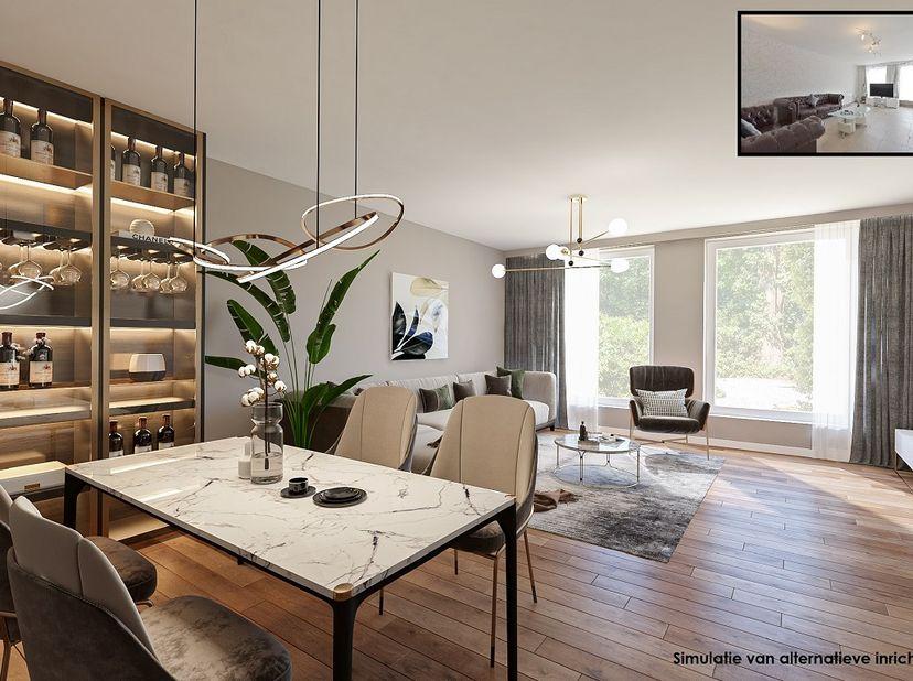 Tof 2-slaapkamer appartement met terras en autostaanplaats<br /> Dit hedendaags appartement biedt je alle comfort en bestaat uit een ruime inkomhal, l