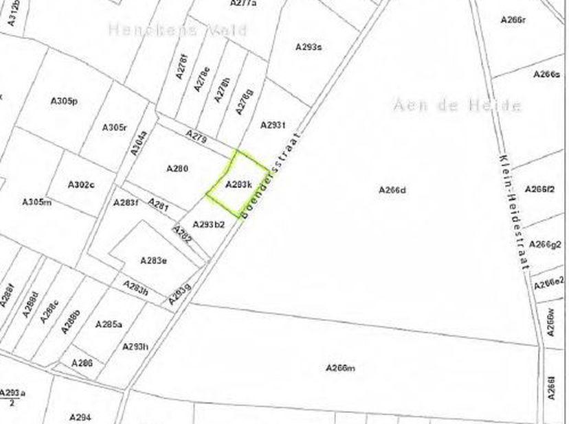 Perceel weiland gelegen langs de Boendersstraat te Oudsbergen (Ellikom) met een oppervlakte van 37a 80ca, vrij van pacht.