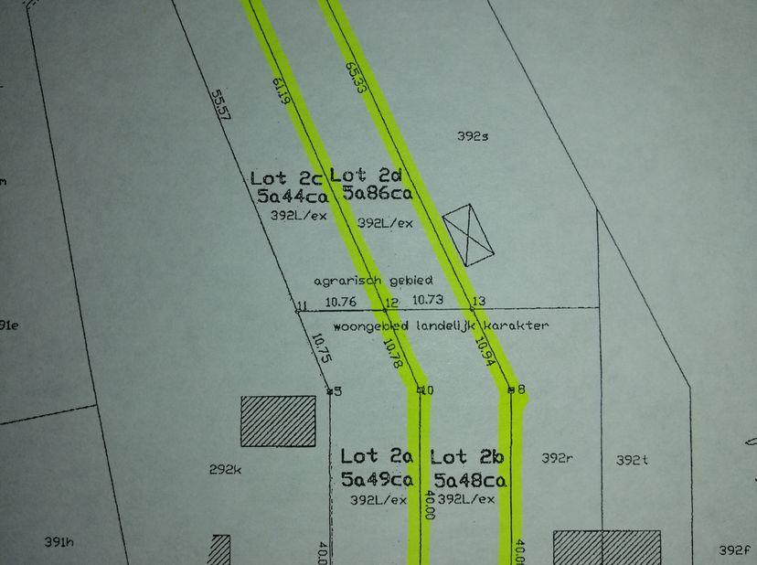 Terrain à vendre                     à 3590 Diepenbeek