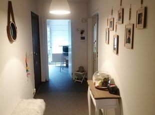 Appartement te huur 750€ (inclusief algemene kosten en verwarming)<br /> 2 ruime slaapkamers, 2 berging waarvan 1 aangesloten voor wasmachine en event