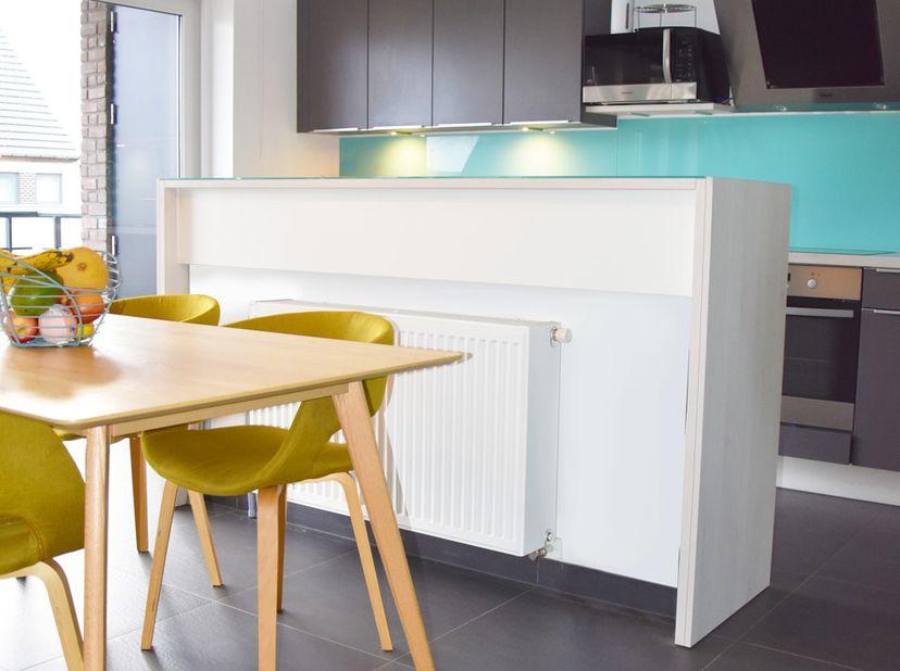 INSTAPKLAAR RECENT APPARTEMENT MET TERRAS EN GARAGE<br /> <br /> IN OPTIE - Dit recente appartement (2015), gelegen in de wijk Bloemendaal in Denderle