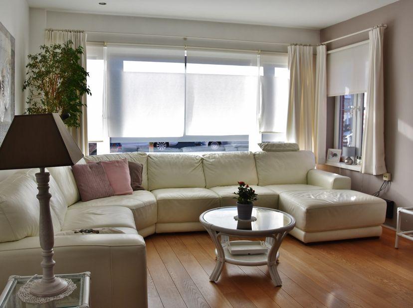 """Mooi gelijkvloers appartement gelegen in de residentiële wijk """"Pulhof"""". Zonnige grote lichte woonkamer, apart toilet, badkamer met inloopdouche, grote"""