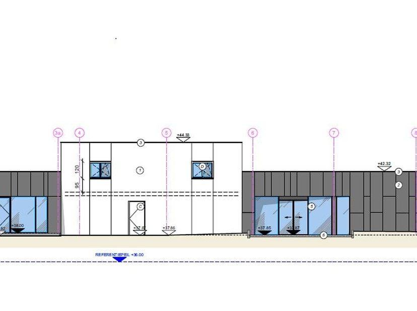-Commerciële ruimte te huur, gelegen op een uitstekende baanlocatie te Halle op de voormalige ALDI site. Het gebouw is compleet gerenoveerd. <br