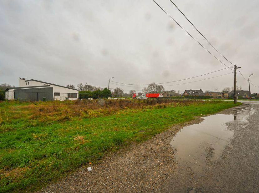 """Een perceel grond, in woongebied, te Ranst,""""Stenenkruis"""", hoek van de Schawijkstraat en de Kempenlaan, kadastr. bekend, sect. B, nr 190/P P0000, opp."""