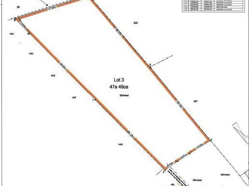"""Lot 3: Een perceel grond, """"het Ven"""", gelegen achter lot 1 en lot 2 aan de Humbeekseweg.  <br /> Bekend ten kadaster: sectie C deel nr 39/A, 4749m&sup"""