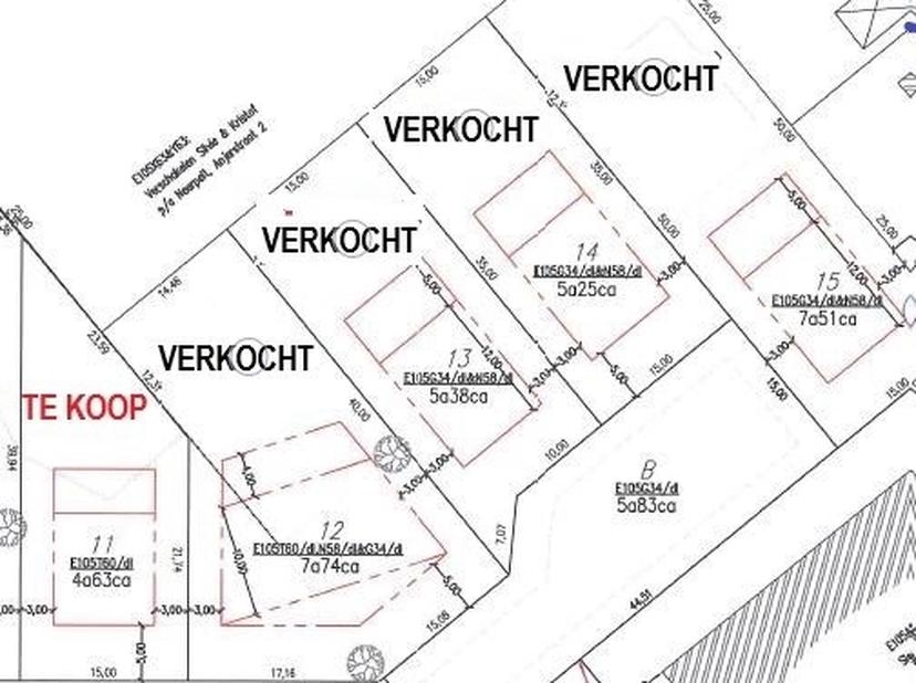 <br /> <br /> Bouwgrond  voor een open bebouwing in een zeer rustige en recente verkaveling te Pelt (Holheide) in de Roerkruidstraat .<br /> <br /> Lo