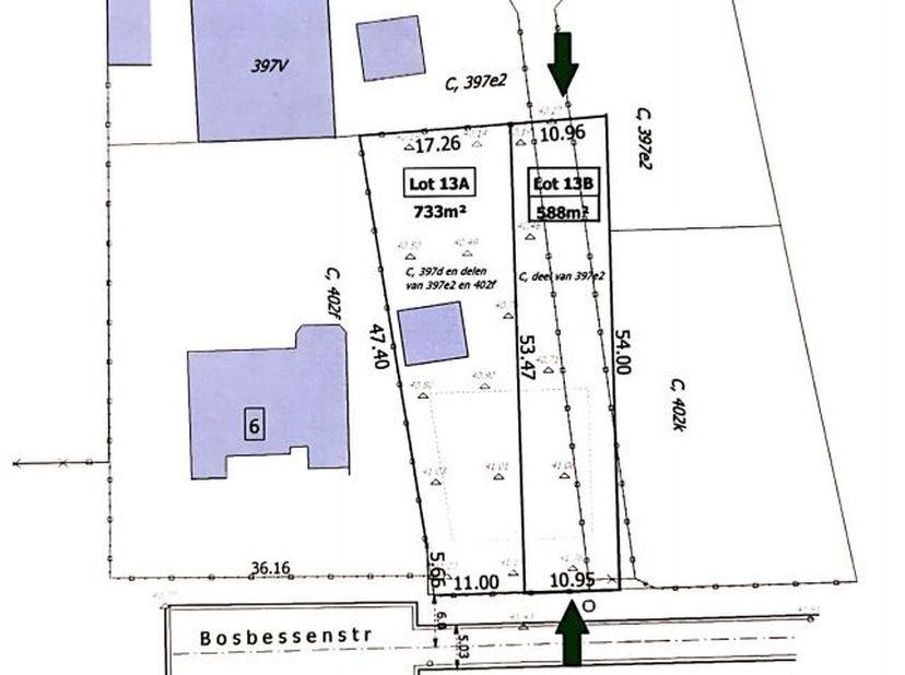 RUSTIG GELEGEN BOUWGROND VAN 5A88CA VOOR HALFOPEN BEBOUWING IN PAAL.<br /> Mooi perceel bouwgrond voor halfopen bebouwing van 5 A 88CA, rustig gelegen