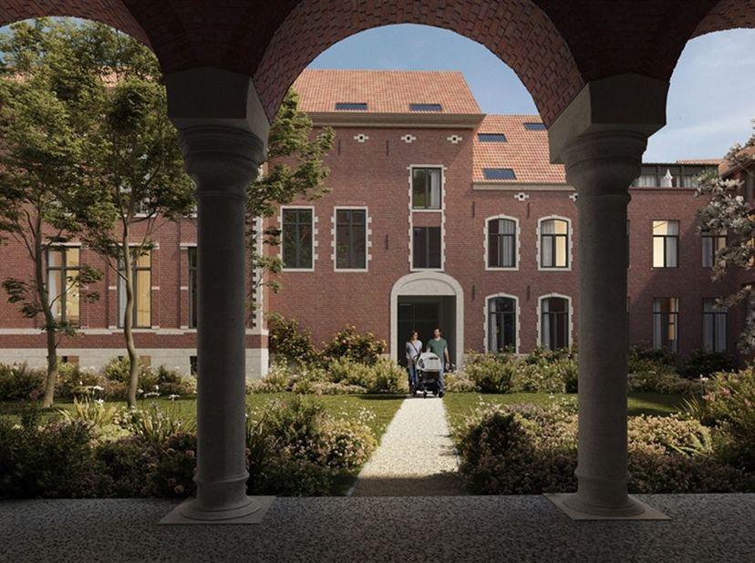 Uniek wonen in een gerenoveerd klooster? Bij de ontwikkeling van deze appartementen wordt de erfgoedwaarde van dit fantastische gebouw maximaal behoud