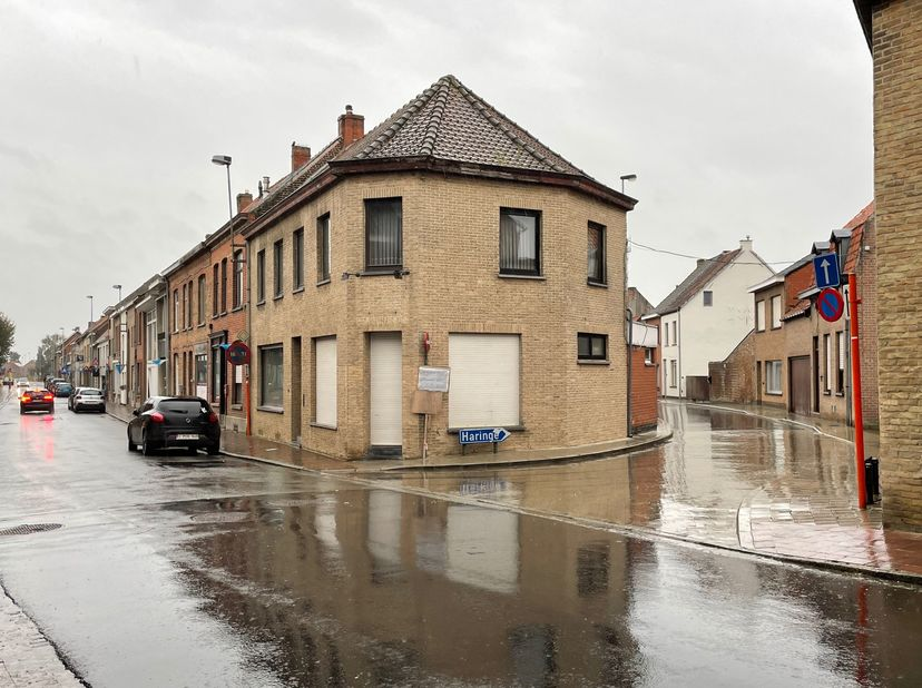 Instapklare ruime woning en handelspand (slagerij met atelier ruimte) in het hartje van Roesbrugge, charmante dorp aan de Ijzer.<br /> Ideale woning v