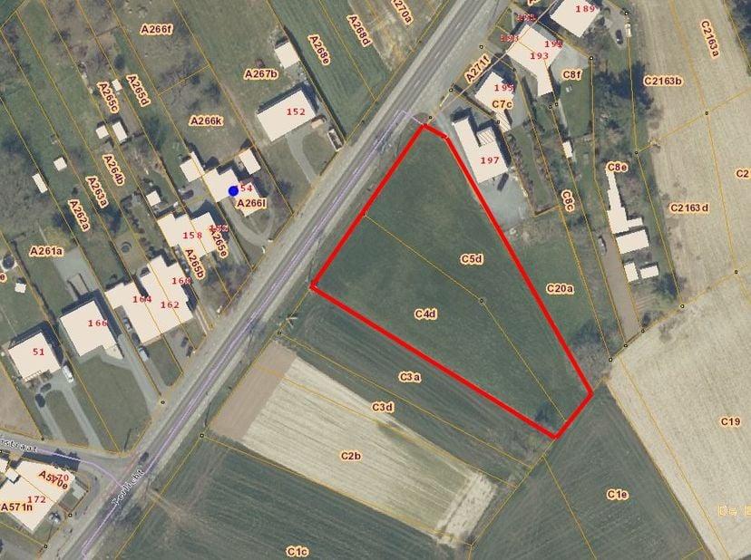 Op een strategische locatie in Haaltert bevinden zich deze twee percelen bouwland met een oppervlakte van 46a 32 ca (23 a 16 ca. per perceel).  Gelege