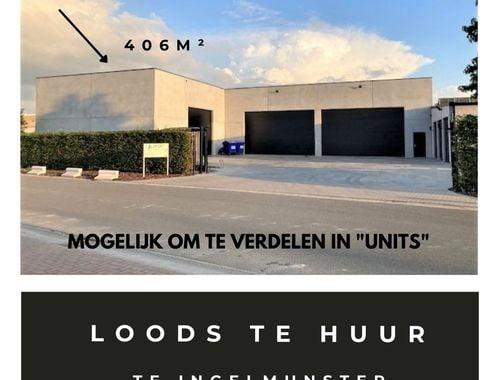 Opslagplaats te huur in Ingelmunster, € 1.420