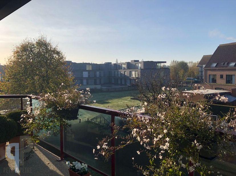 Dit hoekappartement is rustig gelegen in centrum Waregem op 2de verdieping in kleinschalig appartementsblokje (bj 1990) opgetrokken in 2de bouwlijn. I