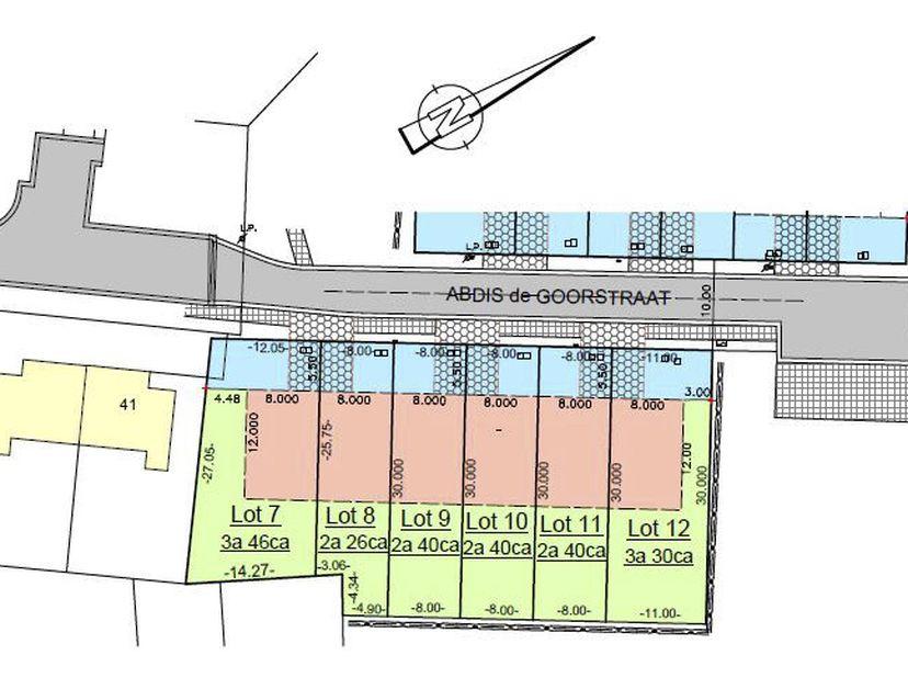 STAD HASSELT - tiende afdeling/SINT-LAMBRECHTS-HERK (71052)  <br /> Een perceel bouwgrond voor halfopen bebouwing, gekend volgens titel sectie C deel