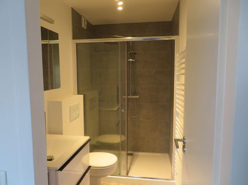 Appartement entièrement rénové en 2020 disponible à Hasselt au sein du grand ring. Il dispose d'une cuisine moderne, d'une salle de bains bien aménagé