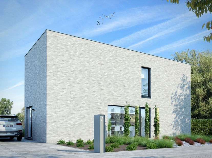 Nieuwbouwwoning gelegen te Oudsbergen, Opglabbeek, Louwel<br /> Meteen beschikbaar.<br /> Dit stekje is ideaal voor kleine gezinnen, alleenstaande of