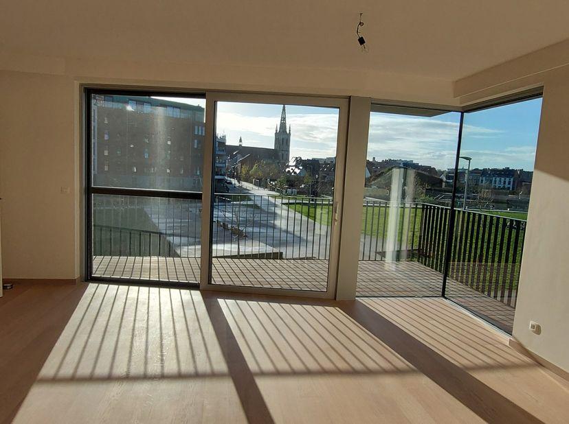 """Nieuwbouw appartement te Leuven in de trendy, aangename nieuwe stadswijk aan het Sluispark (Vaartkom).<br /> Het appartement in residentie """"Parkzicht"""""""