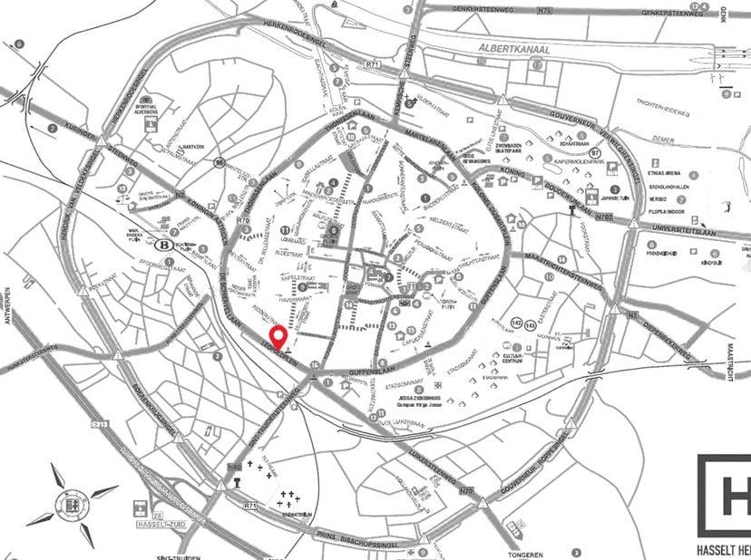 Moeite om je wagen nog kwijt te raken in de binnenstad van Hasselt? <br /> <br /> Wij hebben de ideale plaats voor je, gelegen op de Hasseltse kleine