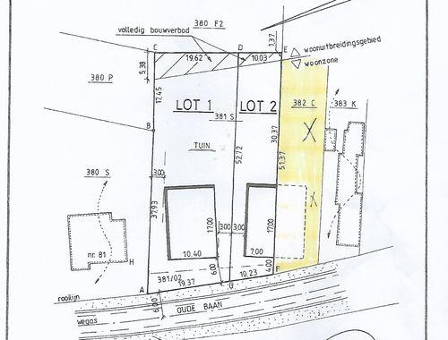 Terrain à vendre à Lanklaar, € 89.000