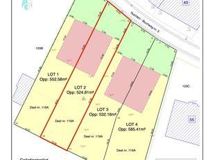 In het landelijke Idegem worden deze 4 loten bouwgrond verkocht. Elk lot is geschikt voor een halfopen bebouwing. <br /> <br /> LOT 2 is geschikt voor
