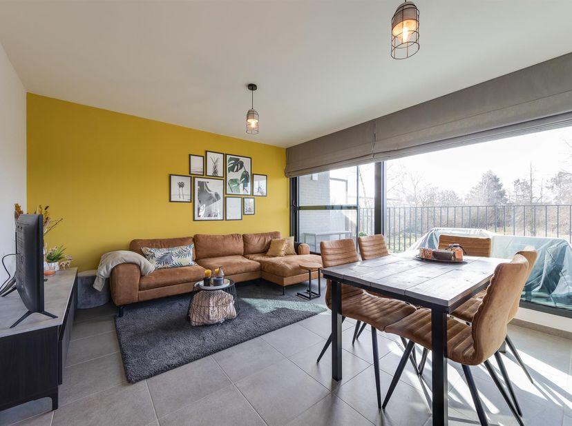 Het recente appartement (2017) bevindt zich op de eerste verdieping en heeft een woonoppervlakte van 72 vierkante meter.<br /> Er is een centrale inko